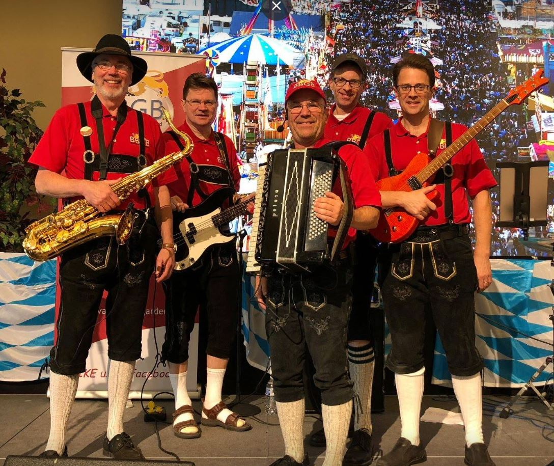 Bavarian Beer Garden Band, Spokane 2018