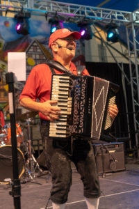 Greg Perry, Accordion